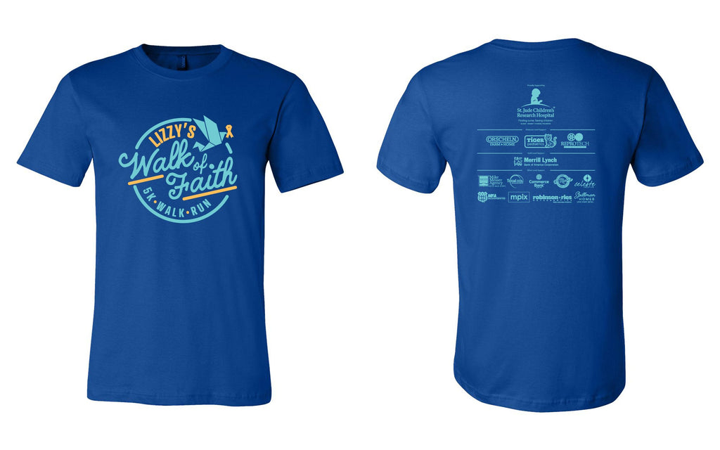 Lizzy's Walk of Faith 5K Tee