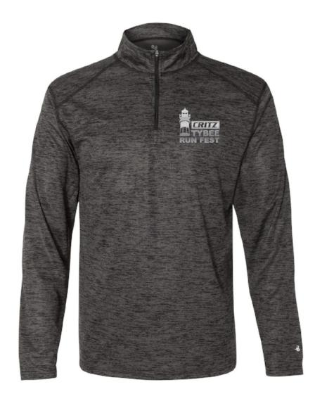 Critz Tybee Run Unisex Quarter Zip