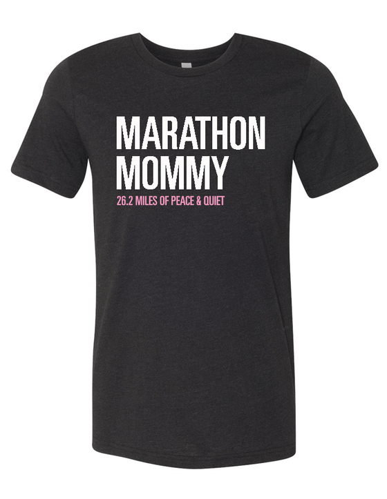 Marathon Mommy Blended Tee