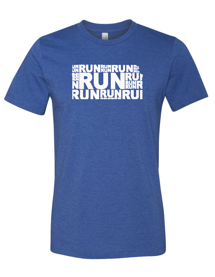 Run (Repeat) Kansas Blended Tee