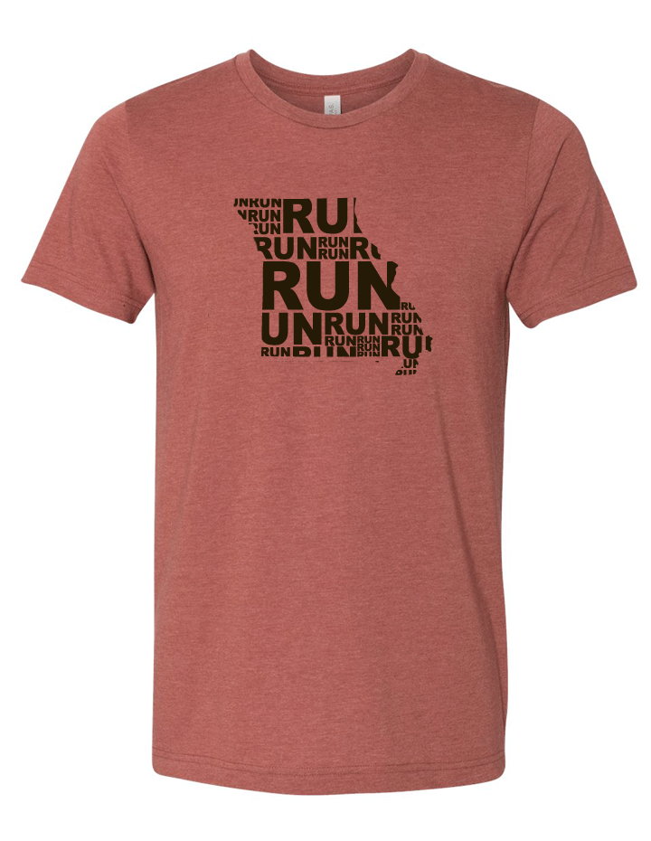 Run (Repeat) Missouri Blended Tee