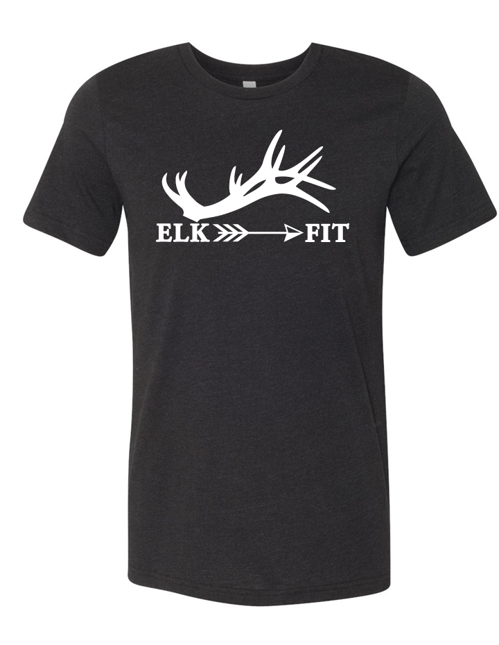 Elk Fit Tri Blend Short Sleeve Tee