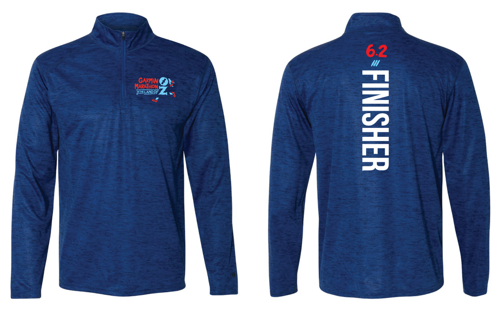 '18 Garmin Finisher Quarter Zip