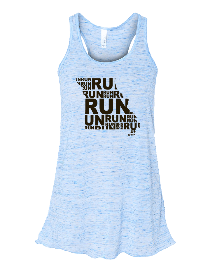 Run (Repeat) Missouri Flowy Tank