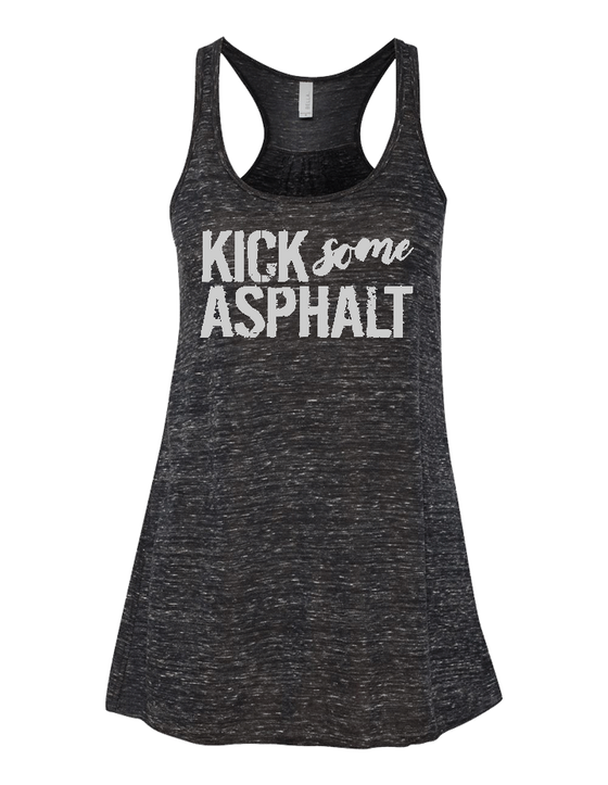 Kick Some Asphalt Ladies Flowy Tank