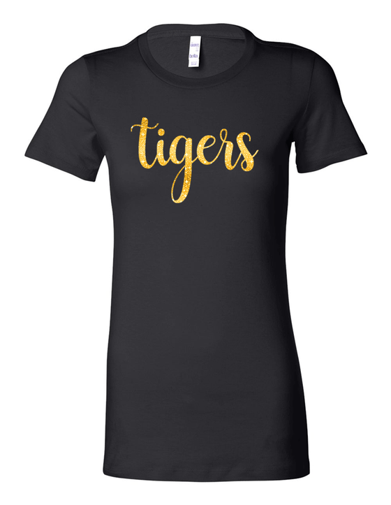 Tigers Ladies Tri-Blend Tee