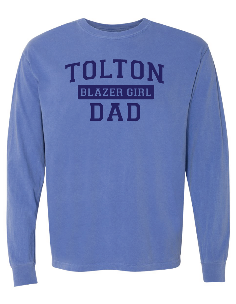 Blazer Girl Dad Long Sleeve Tee