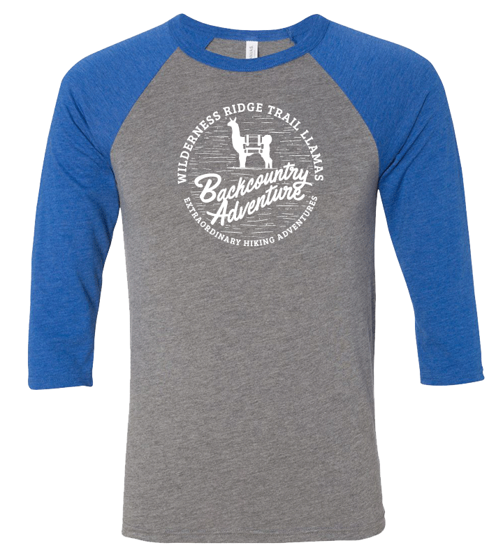 Backcountry Adventure Baseball Tee