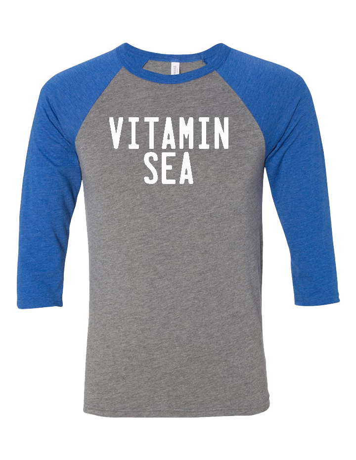 Vitamin Sea Unisex Baseball Tee