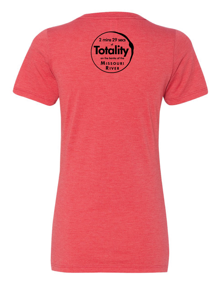 Capital Eclipse Totality Tee - Ladies