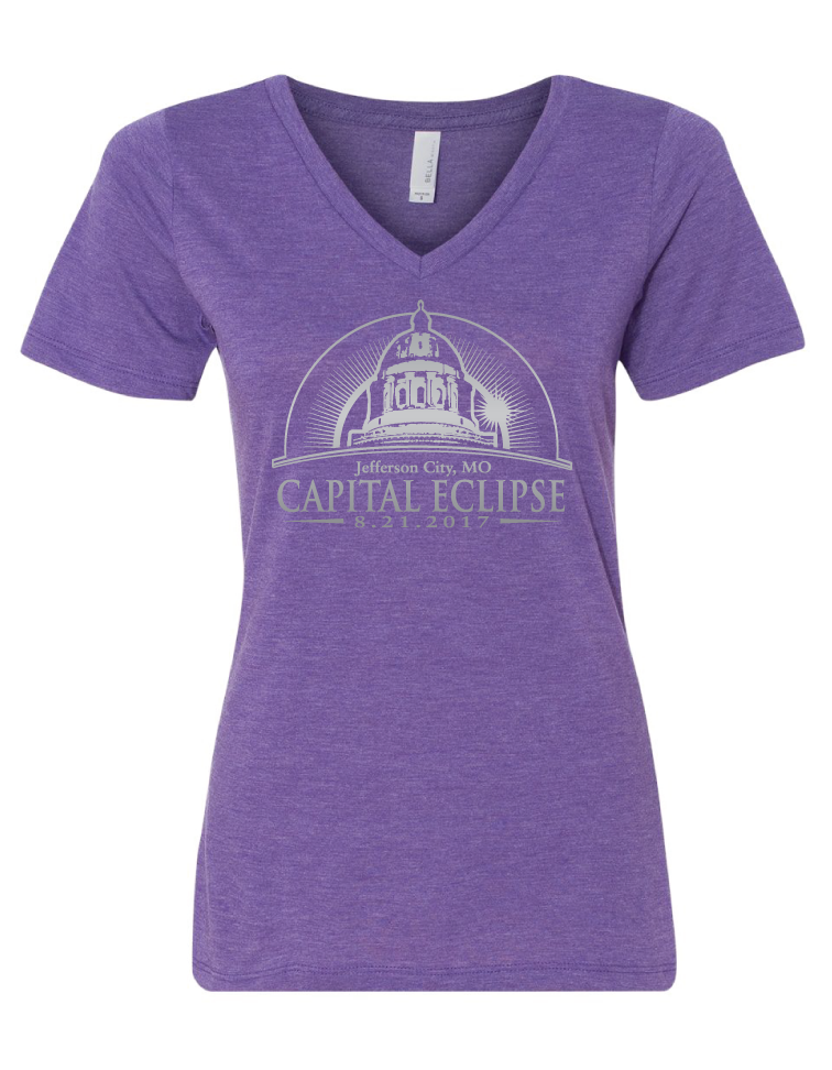 Capital Eclipse Official Tee - Ladies