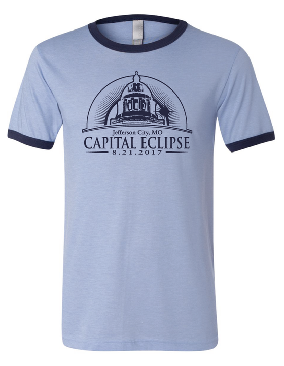 Capital Eclipse Ringer Tee