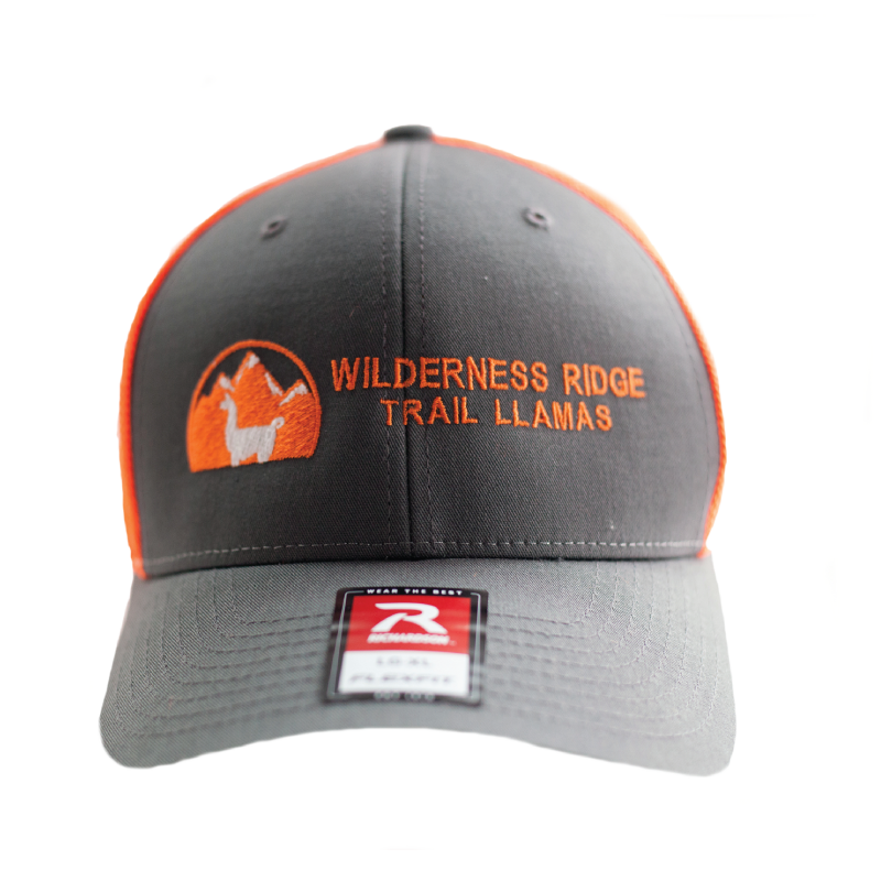 WRTL Charcoal/Orange Trucker Hat