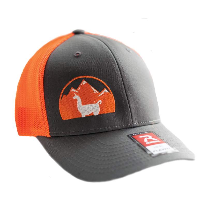 WRTL Charcoal/Orange 2 Trucker Hat