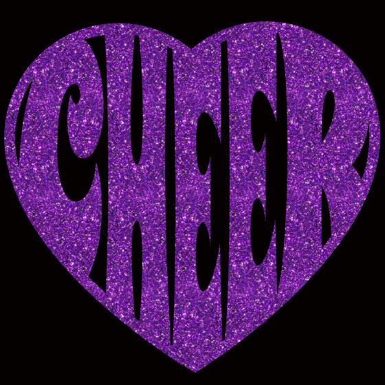 Cheer Heart Large - Design Only