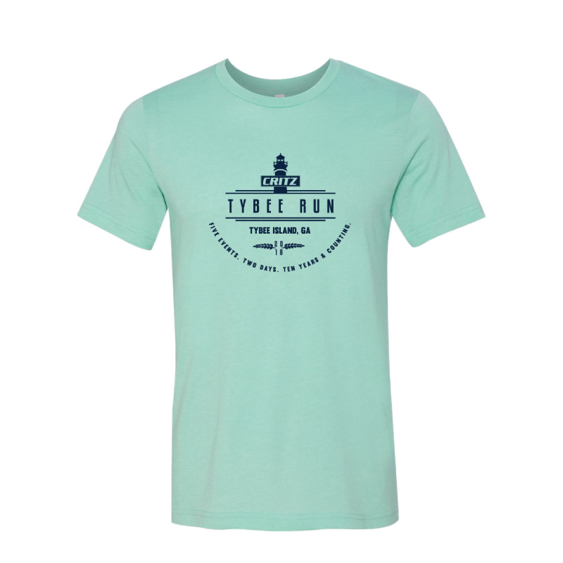Critz Tybee Run Commemorative Tee
