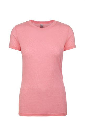 Short Sleeve Soft Cotton Tee Ladies - Next Level