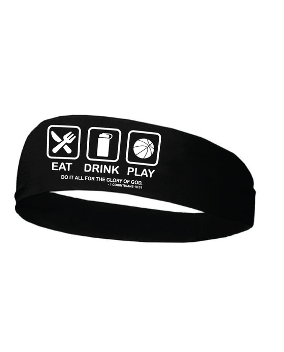 Eat Drink Play Headband