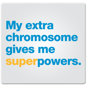My Extra Chromosome Gives Me Super Powers