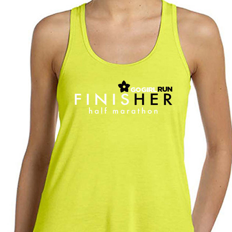 Go Girl Run Official Half Marathon Finisher - Design Only