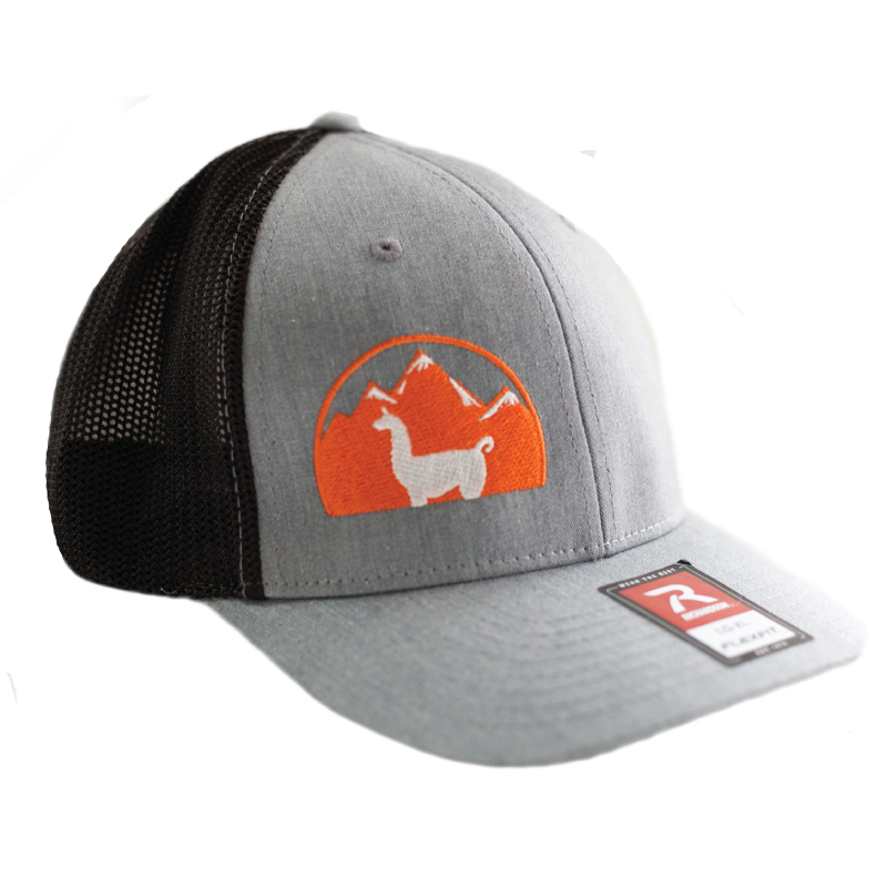 WRTL Grey Side Logo Trucker Hat