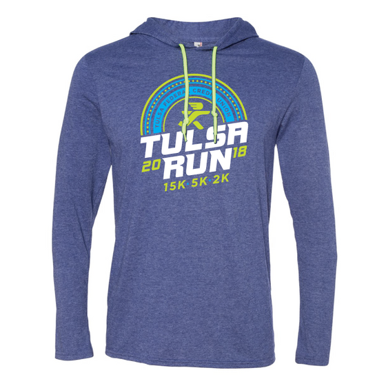 Tulsa Run Half Circle Lightweight Hoodie