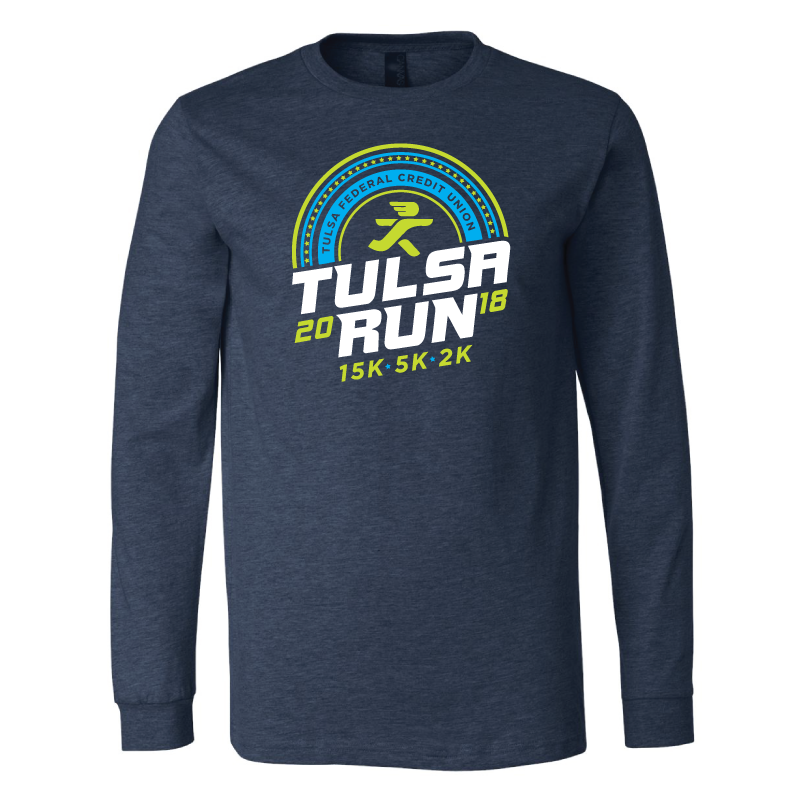 Tulsa Run Half Circle LS Tee