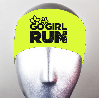 Go Girl Run Bondiband Headband