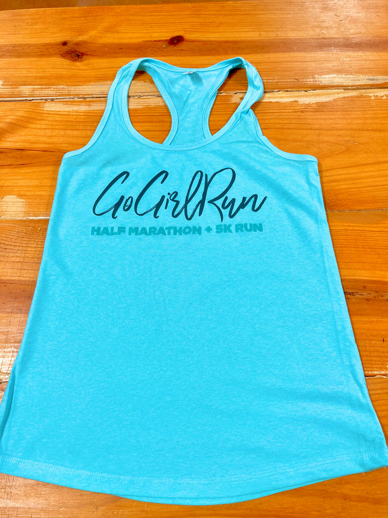 2020 Go Girl Run Finisher Tank