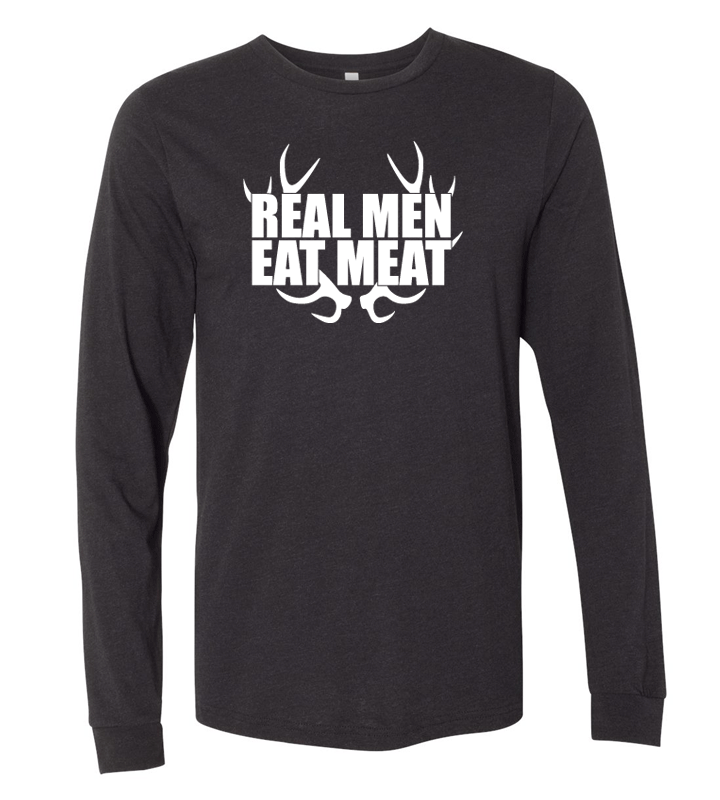 Real Men Long Sleeve Tee