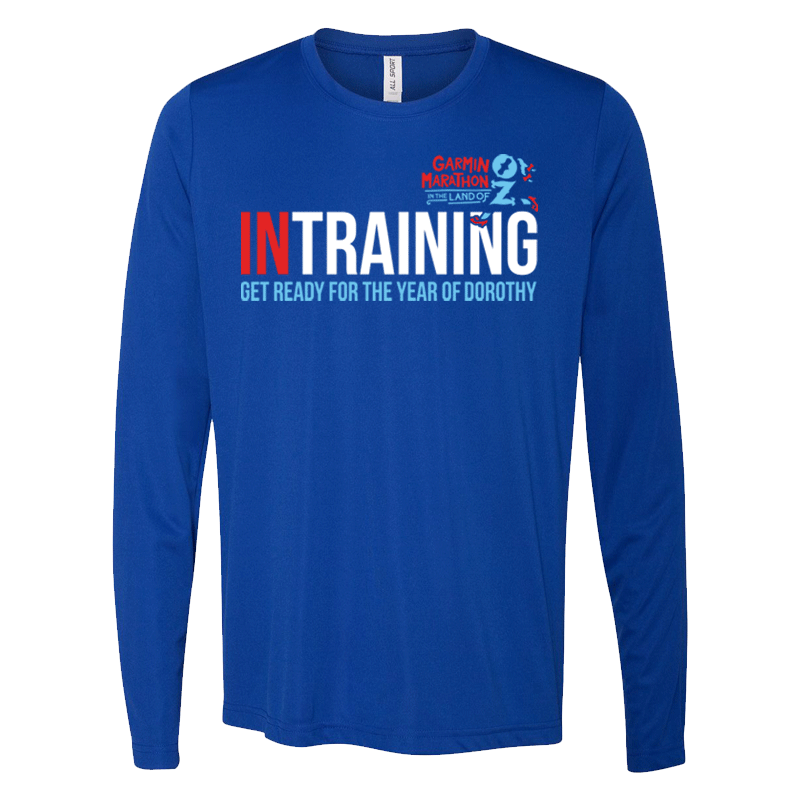 '18 Garmin Marathon In Training Long Sleeve Tee
