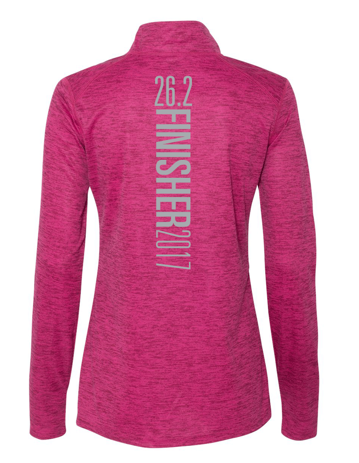 Kansas City Marathon Badger Quarter Zip - Ladies
