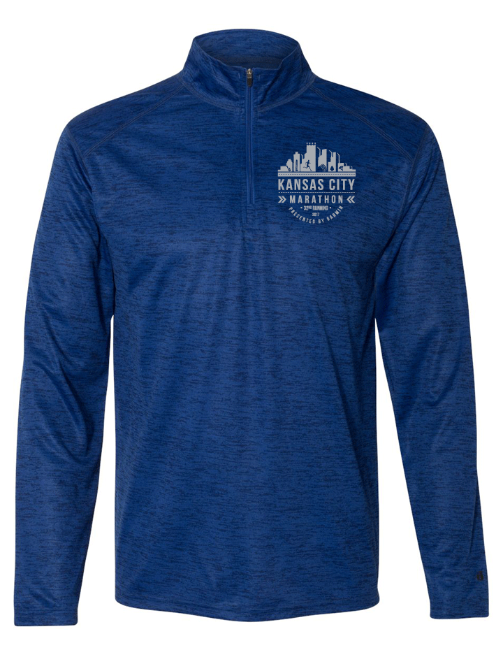 Kansas City Marathon Badger Quarter Zip