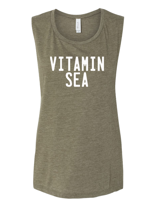 Vitamin Sea Ladies Muscle Tank