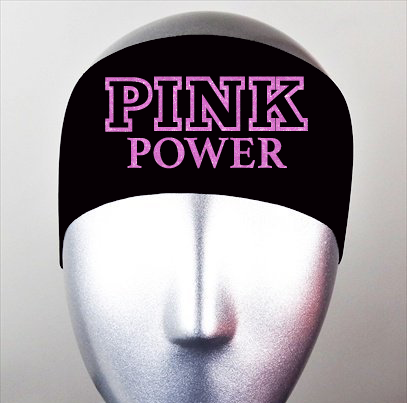 Pink Power Bondiband Headband