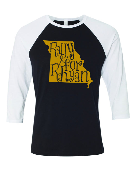 Rally For Rhyan Baseball Tee