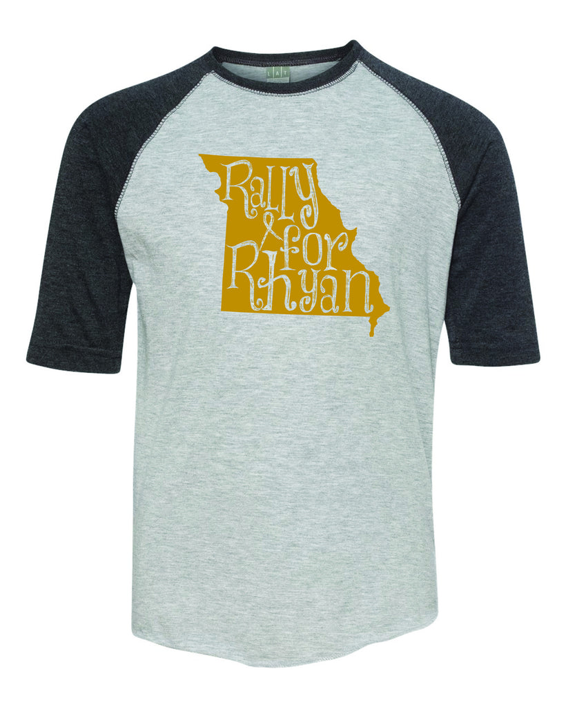 Rally For Rhyan Youth Baseball Tee