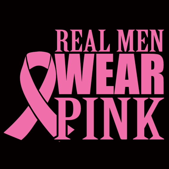 Real Men Wear Pink - Design Only