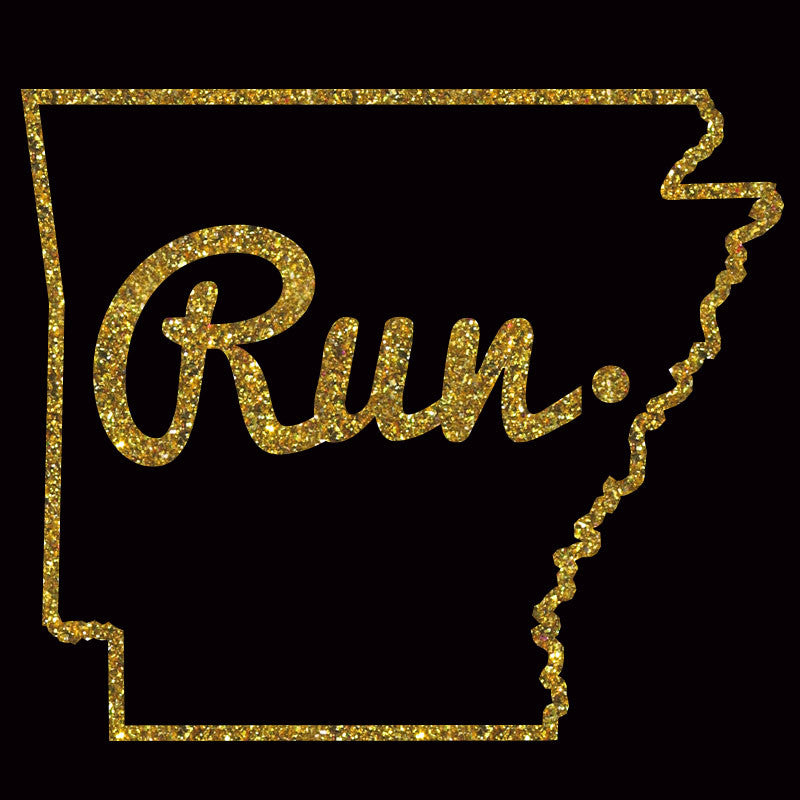 Run Arkansas Outline - Design Only