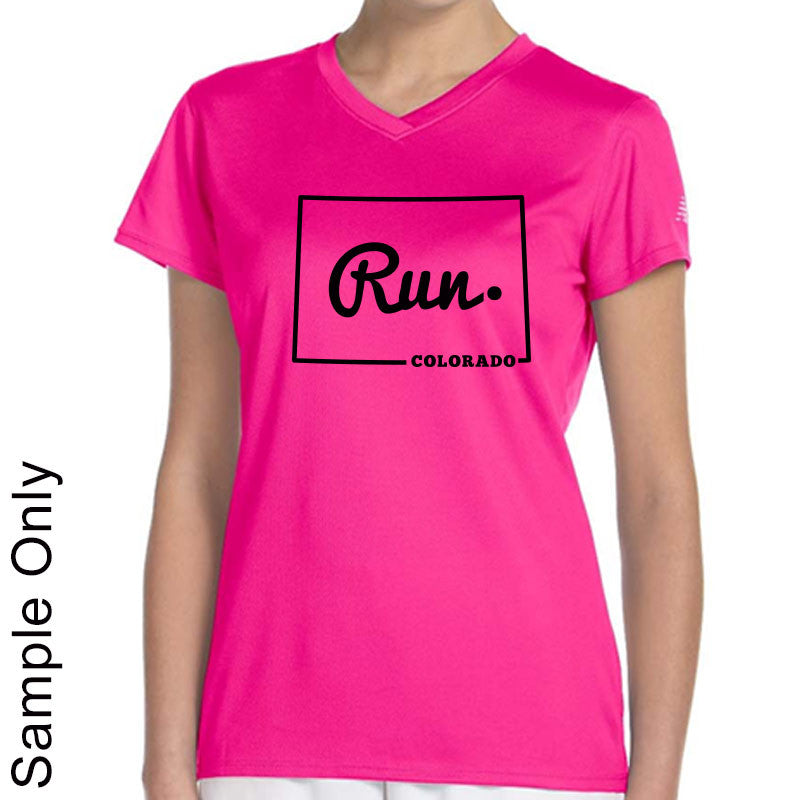 Run Colorado Outline - Design Only