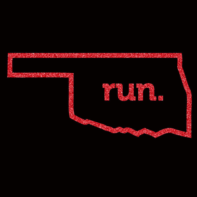 Run Oklahoma Outline - Design Only