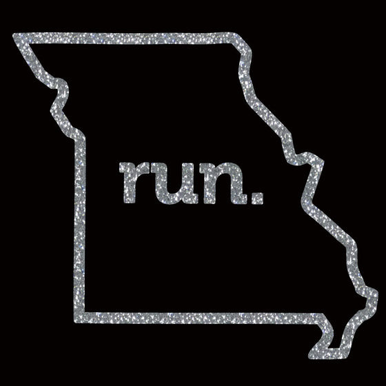 Run Missouri Outline Block - Design Only
