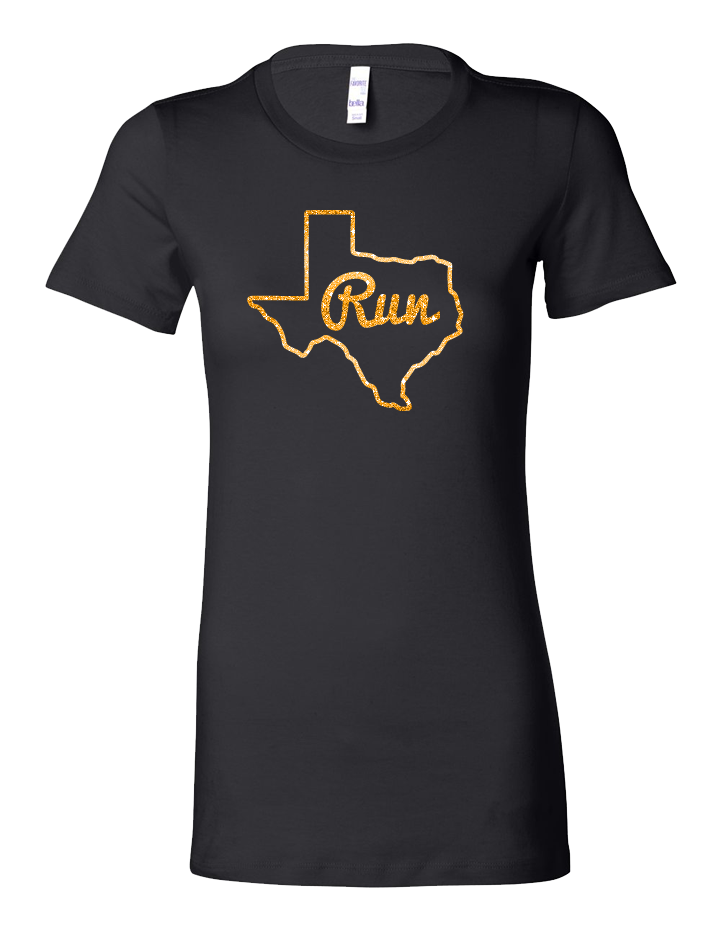 Run Texas Ladies Tee