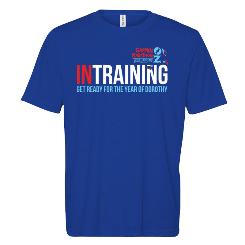 '18 Garmin Marathon In Training Short Sleeve Tee