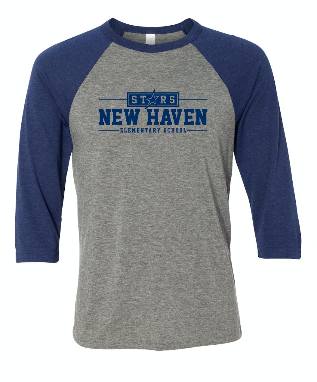 New Haven: Academic Baseball Tee