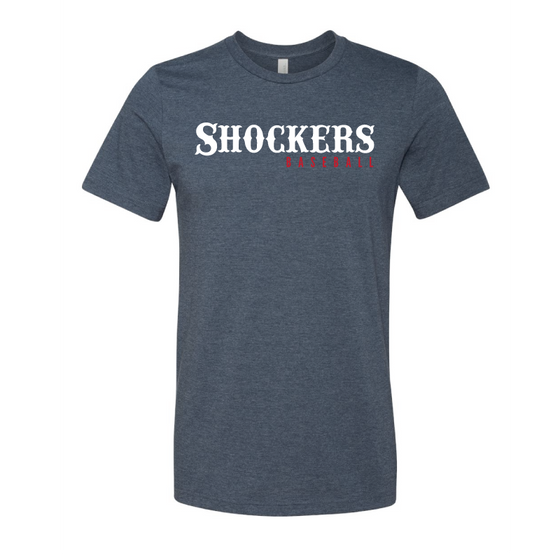 Shockers Baseball Blended Tee