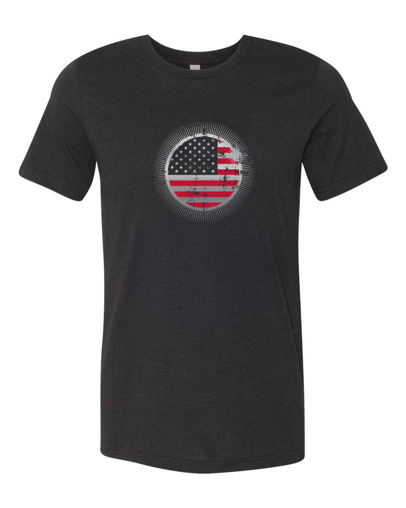 America Eclipsed Triblend Tee