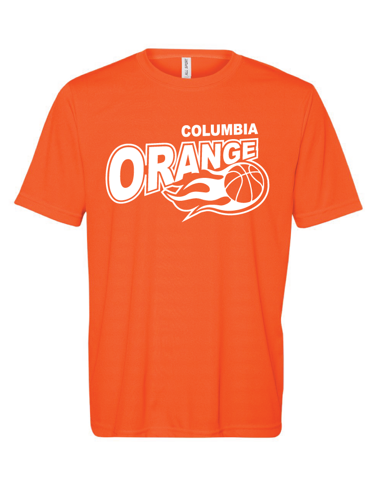 Columbia Orange Spirit Tee