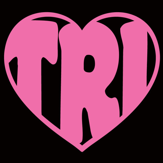I Love Tri Heart - Design Only