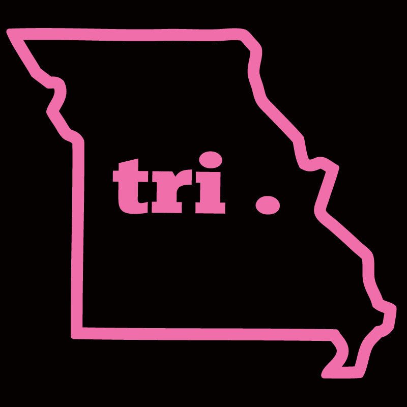 Tri Missouri Outline - Design Only